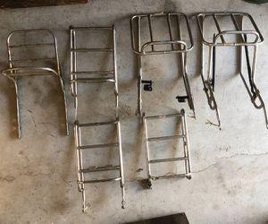 Original Vintage Motorcycle Luggage Racks And Rear Racks.... for Sale in Atlanta, GA