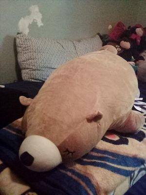 Sleeping stuffed bear (pillow) for Sale in Santa Fe Springs, CA