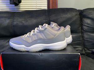 Cool Grey retro Jordan 11 lows for Sale in Elmira, NY