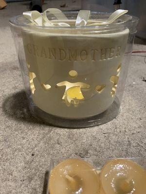 """""""Grandmother"""" Candle with Teacup Candles for Sale in Upton, MA"""