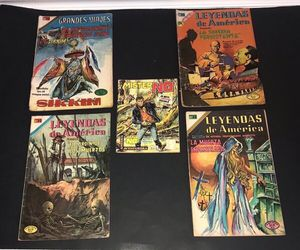 Spanish Comic Books $5 for ALL for Sale in Port St. Lucie, FL