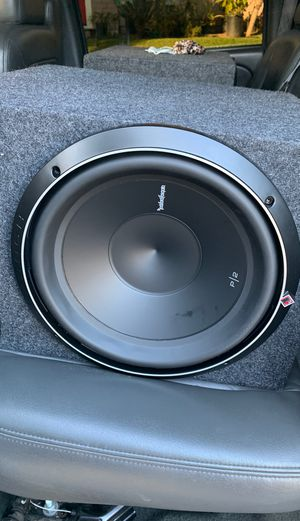 12 inch Rockford foscate p2 for Sale in Anaheim, CA