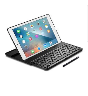 Spigen K101W iPad Pro 9.7 Keyboard Case with Integrated Stylus and Bluetooth Wireless Connection and Detachable Case for iPad pro 9.7 for Sale in Chicago, IL