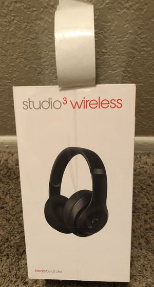 BEATS STUDIO 3 WIRELESS HEADPHONES NEW! for Sale in Ontario, CA