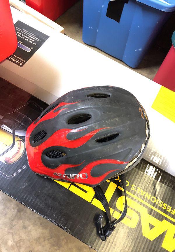 Bike with training wheels and helmet included little kids bike
