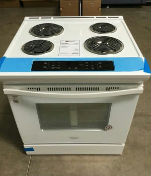 New Whirlpool Slide In Electric Coil Top Range w/ Self Clean for Sale in Chandler, AZ