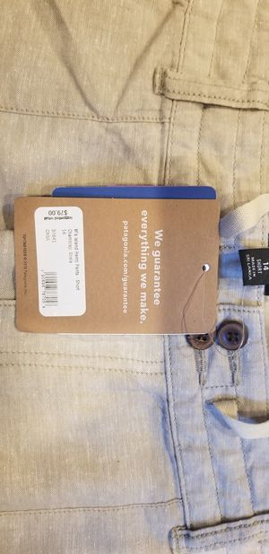 BRAND NEW Women's Pants Patagonia Linen Size 14 for Sale in San Diego, CA
