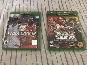 Xbox One 2-Game Bundle for Sale in Dallas, GA