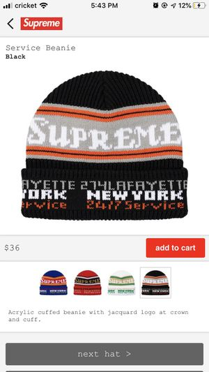 Supreme beanie FW19 for Sale in Spring Valley, CA