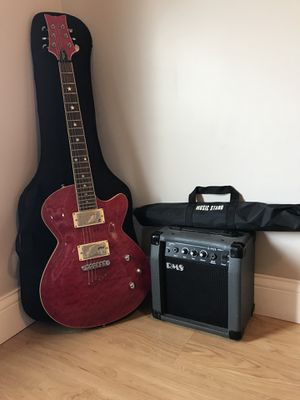 Daisy Rock Rock Candy Special electric guitar in special red for Sale in Elyria, OH