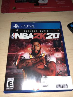 2k20 ps4 for Sale in North Providence, RI