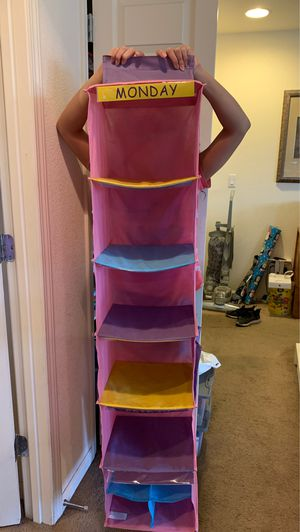 Money-Friday closet organizer with 4 accessories compartment for Sale in North Las Vegas, NV