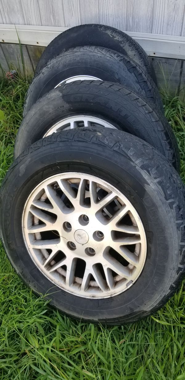 4 JEEP GRAND CHEROKEE LAREDO WHEELS