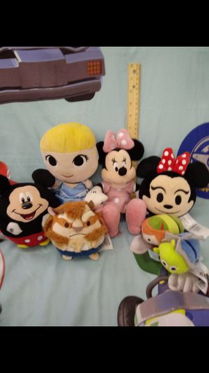 Disney Plush Bundle for Sale in El Paso, TX