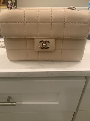 2002-2003 Authentic Chanel Chocolate Bar Beige Bag - Excellent Condition for Sale in Dallas, TX