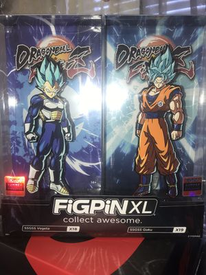 FIGPIN XL Dragon Ball Z Goku and Vegeta for Sale in Stockton, CA