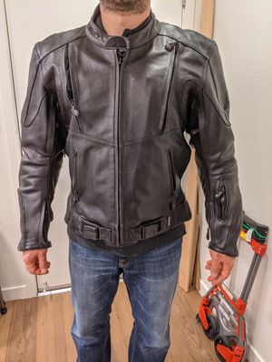 Xpert Sport leather motorcycle jacket for Sale in Foster City, CA