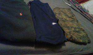 Rl polo & Nike sweatpants & army fatigue pants for Sale in Los Angeles, CA
