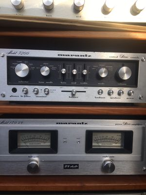 Marantz preamp and power amp with a pair klipsch Heresy for Sale in Stockton, CA