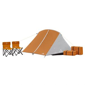 Camping Kit with Tent, Chairs, and Sleeping Pads for Kids for Sale in Henderson, NV