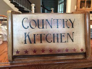 Country Kitchen Bread Box for Sale in Round Hill, VA