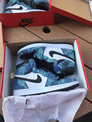 Jordan 1 Tie Dye Size 9 Men/10.5 W Deadstock for Sale in North Providence, RI