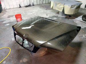 BMW E-46 carbon fiber hood for Sale in El Paso, TX