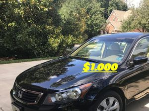 🙏🏼Very good condition 2008 Honda Accord EXL I sell my family car excellent Clean Tittle🔑🔑 for Sale in Alexandria, VA