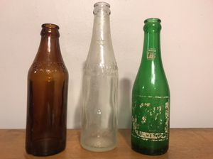 Antique soda bottles for Sale in West Hollywood, CA