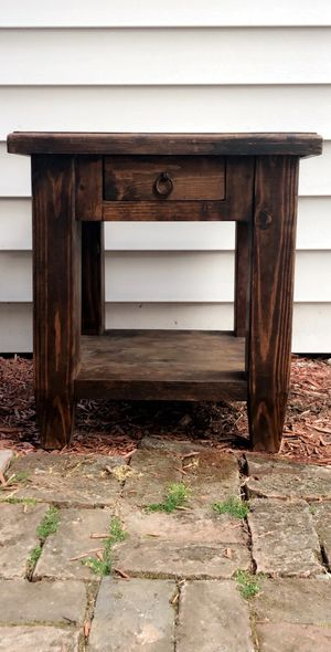 Southwest style end table for Sale in Covington, WA