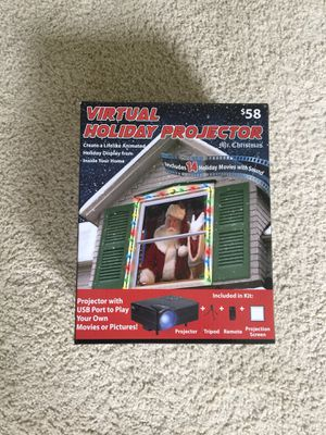 Virtual Holiday Projector for Sale in Sterling, VA