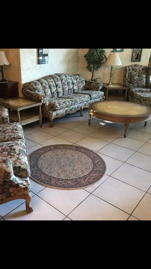 Coffee table and 2 end tables / Lane fine furniture / Vintage / can deliver for Sale in Tamarac, FL
