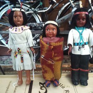 Vintage Native American Dolls for Sale in Spokane, WA