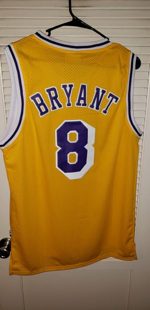 Men's Medium Kobe Bryant Los Angeles Lakers Jersey New with Tags Stiched Adidas $45. Ships +$3. Pick up in West Covina for Sale in West Covina, CA