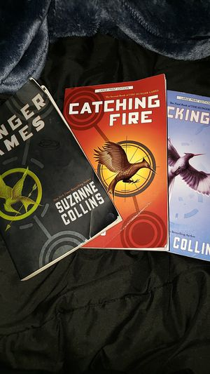The Hunger Games Series 1,2,4 for Sale in Riverside, CA