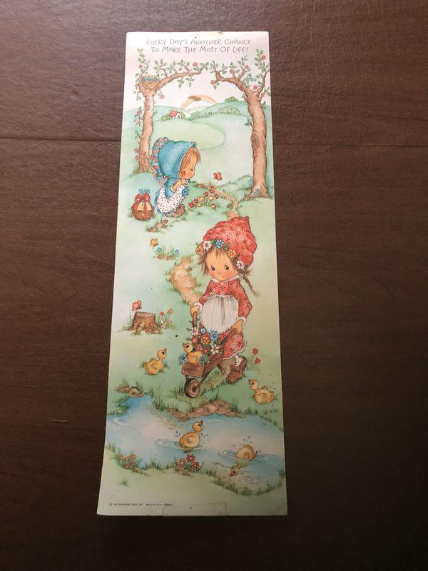 Vintage Hallmark Poster