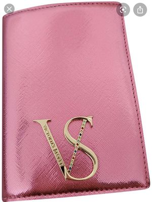 Victoria Secret Metallic Hot Pink Wallet Shiny Jewel for Sale in New York, NY