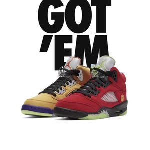 """What the?"" Jordan 5s (GS) Size 6y for Sale in Fayetteville, NC"