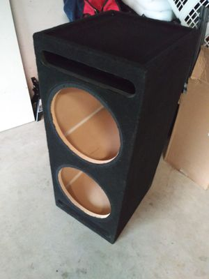 Subwoofer box for Sale in Santa Ana, CA