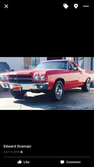 1970 El Camino Almost 50 years Old for Sale in Los Angeles, CA