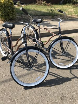HIS AND HERS BEACH CRUISER BIKES!! for Sale in Woodburn, OR