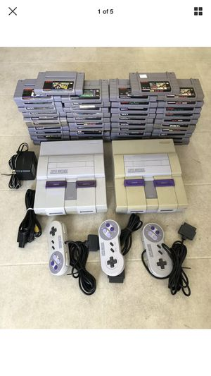 Nes and sne systems and games for Sale in Inglewood, CA