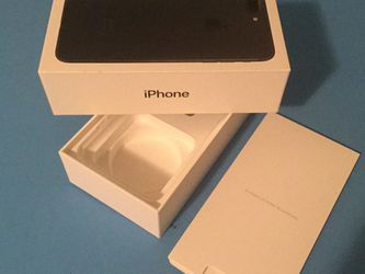 Empty BOX iPhone 7 Plus and a box for headphones for Sale in Vancouver,  WA
