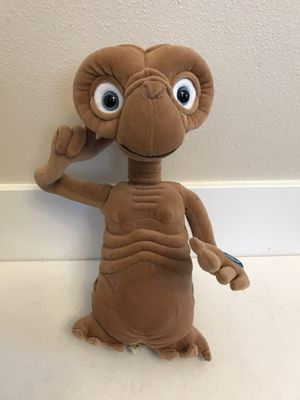 """Vintage Plush E.T. Talking Collectible Doll Toys R Us Universal Large 13"""" Tall for Sale in Kirkland, WA"""