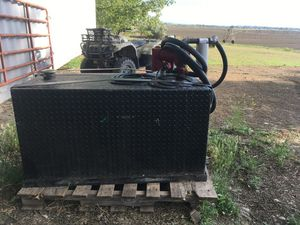 Fuel tank and headache rack for Sale in Richland, WA