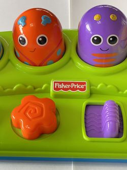 Fisher-price Brilliant Cause Effect Toy Pop Up Surprise Boppin' Activity Bugs [ Not Longer Available At The Store] for Sale in Boca Raton,  FL