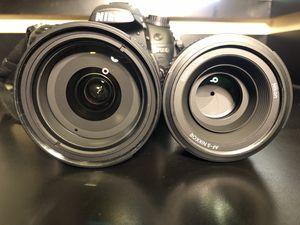 Nikon D7000 Camera Bundle with 2 Lenses! for Sale in Folsom, CA