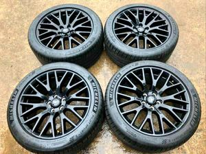 """19"""" Mustang Performance Rims with Tires for Sale in Dallas, TX"""