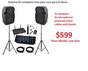 DJ complete system. Ready to play at your gigs. for Sale in San Leandro, CA