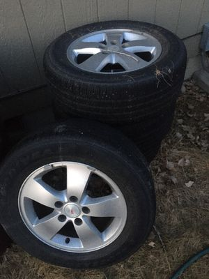 Stock Pontiac Grand Prix rims and tires for Sale in Billings, MT